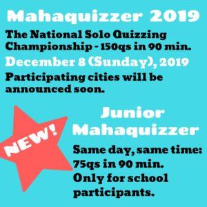 MahaQuizzer 2019